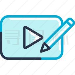 视频编辑图标