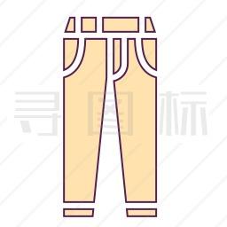 牛仔裤图标