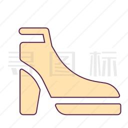 雪地靴图标