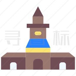 地标建筑图标