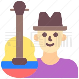 音乐家图标