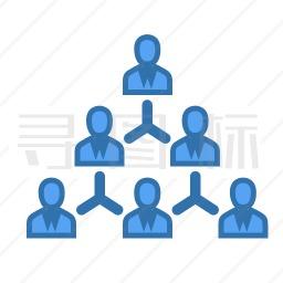 组织架构图标