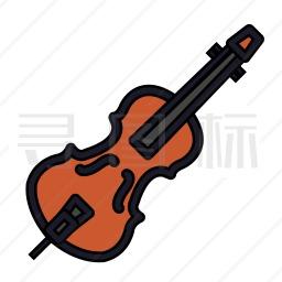小提琴 图标