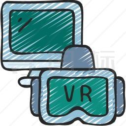虚拟游戏图标
