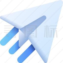 纸飞机图标