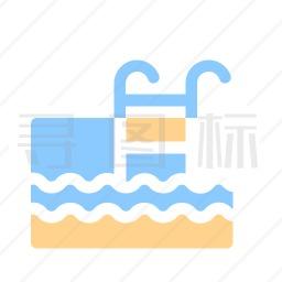游泳池图标