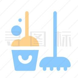 清洁服务图标