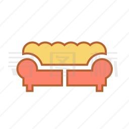 双人沙发图标