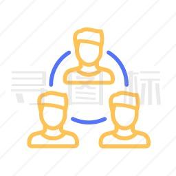 组织结构图标