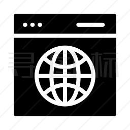 网页网络图标