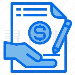 财务文件图标