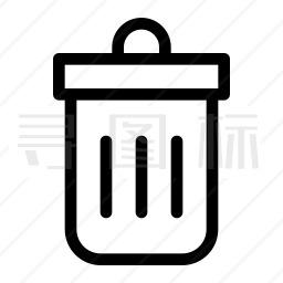 垃圾箱图标