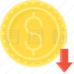 美元硬币图标