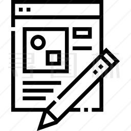 文件编辑图标