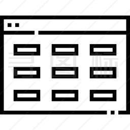 电子表格图标