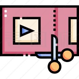 视频剪辑图标