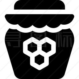 蜂蜜罐图标