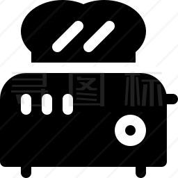 烤面包机图标