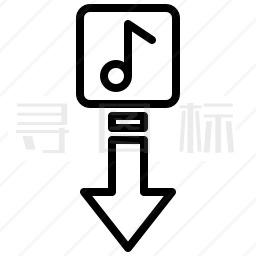 音乐下载图标