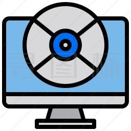 电脑磁盘图标