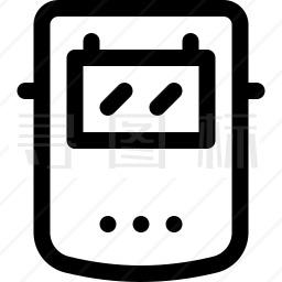 焊接面罩图标