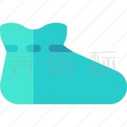 防护鞋套图标