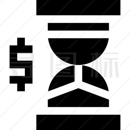 时间金钱图标