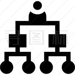 组织结构图图标