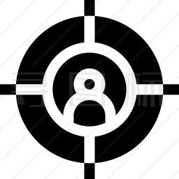 目标用户图标