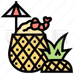 菠萝饭图标