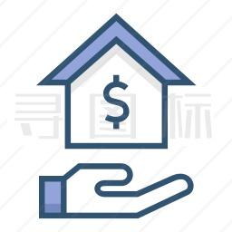 抵押贷款图标