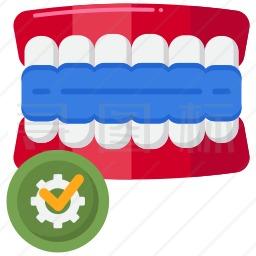牙齿模型图标