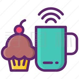 蛋糕咖啡图标