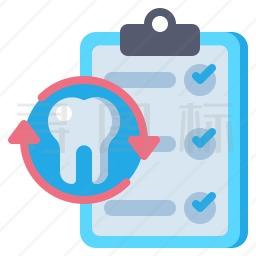 牙科记录图标