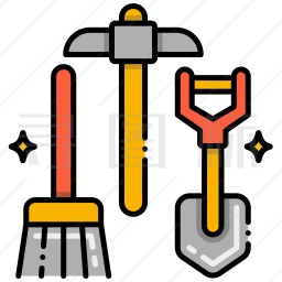 考古工具图标