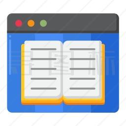 网页书籍图标