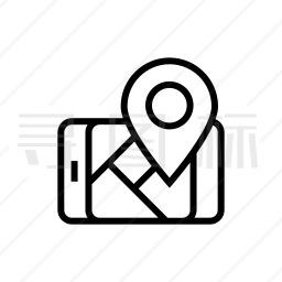 手机地图图标