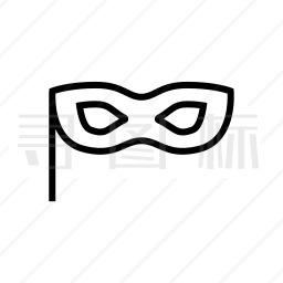 眼部面具图标