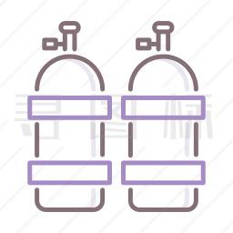 氧气罐图标