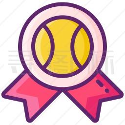 棒球奖章图标