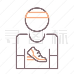 跑步者图标