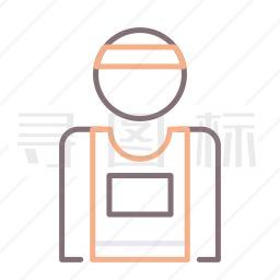 运动员图标