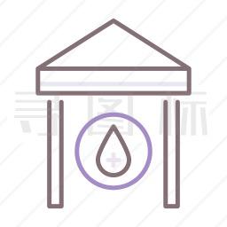 饮水站图标