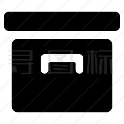 档案箱图标