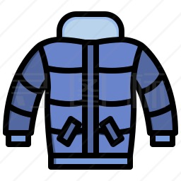 冬季夹克图标