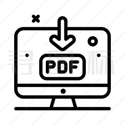 PDF下载图标