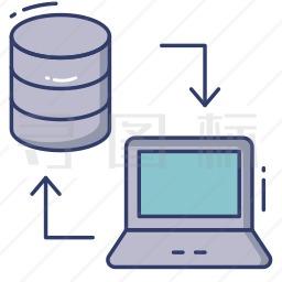 电脑数据图标