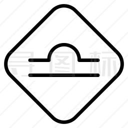 驼峰桥标志图标