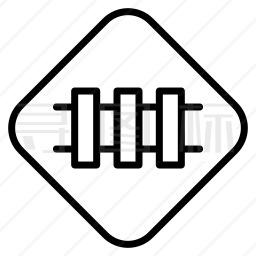 铁路标志图标