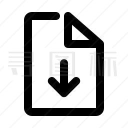 文件下载图标
